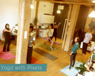 Yoga with Pixels