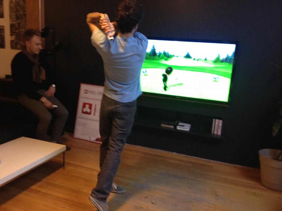 Wii Golf Gets Fierce
