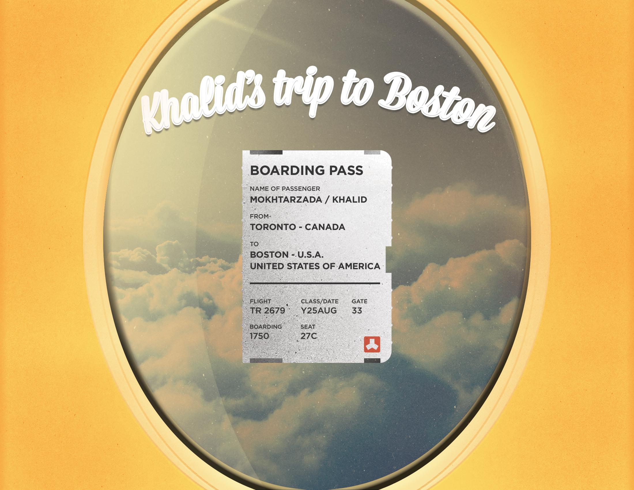 Khalid's Trip to Boston