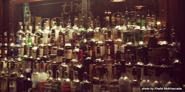 Drinks  at the Black Rose - Boston MA