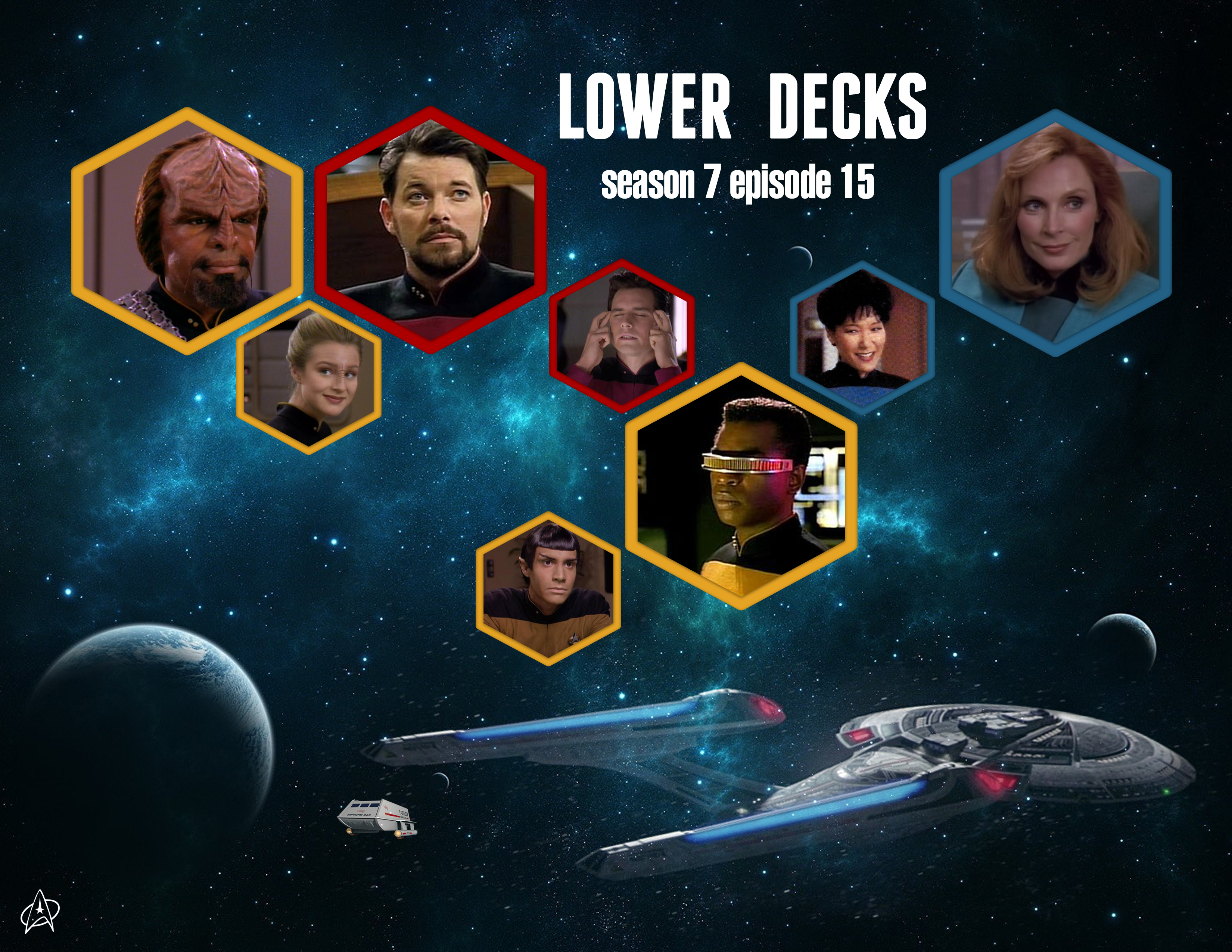 An episode for the youngin's: Lower Decks