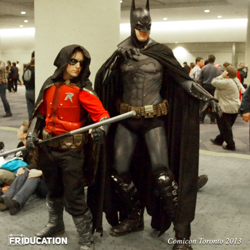 Comicon Toronto Batman Robin