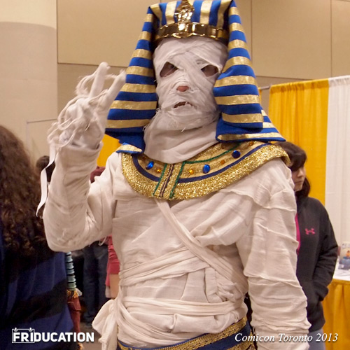 Comicon Toronto Pharaoh