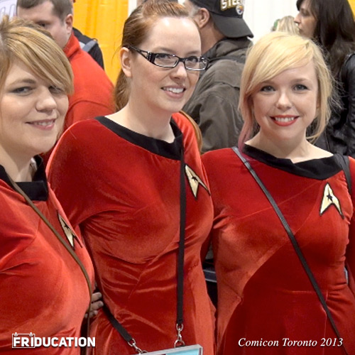 Sexy Star Trek Starfleet Girls
