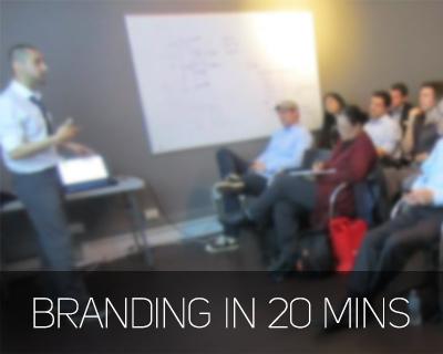 Branding in 20 minutes