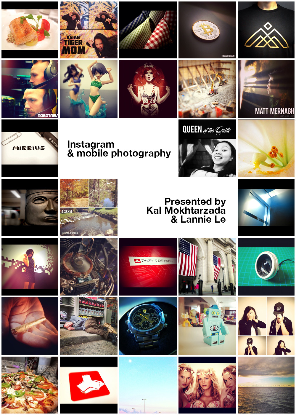 Instagram and mobile photography workshop