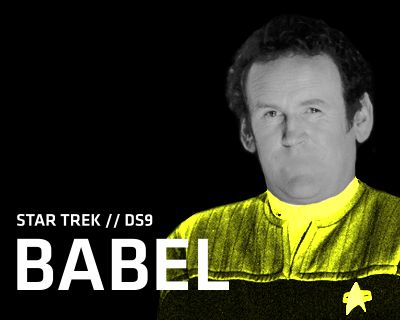 Star Trek DS9 – Babel