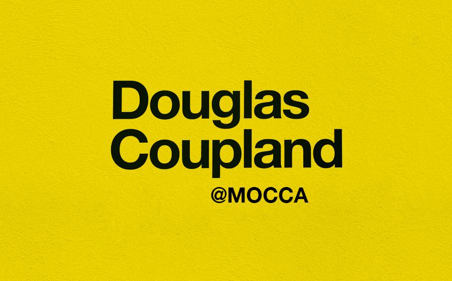 Douglas Coupland @MoCCA