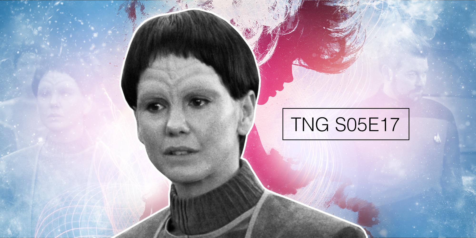 The Outcast — TNG: S05 E17